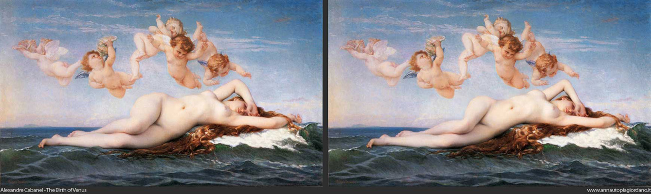 Bouguereau - The birth of venus