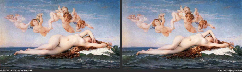 Bouguereau - The birth of venus