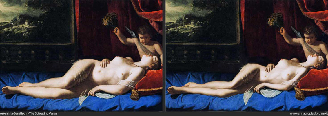 Artemisia Gentileschi-The-Sleeping-Venus